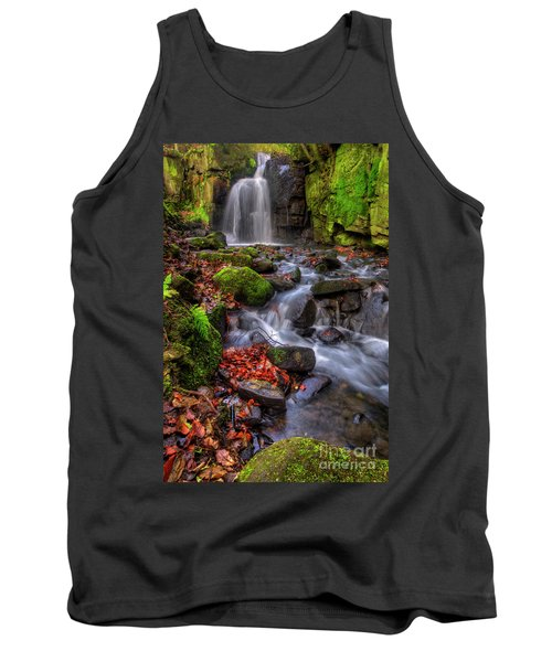 Tank Top featuring the photograph Lumsdale Falls 4.0 by Yhun Suarez