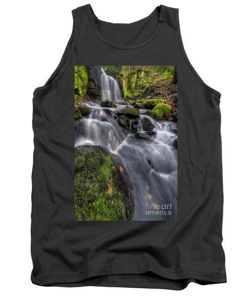 Tank Top featuring the photograph Lumsdale Falls 5.0 by Yhun Suarez