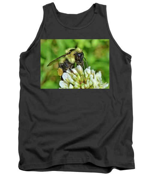 Lunch In The Garden Tank Top by Ludwig Keck