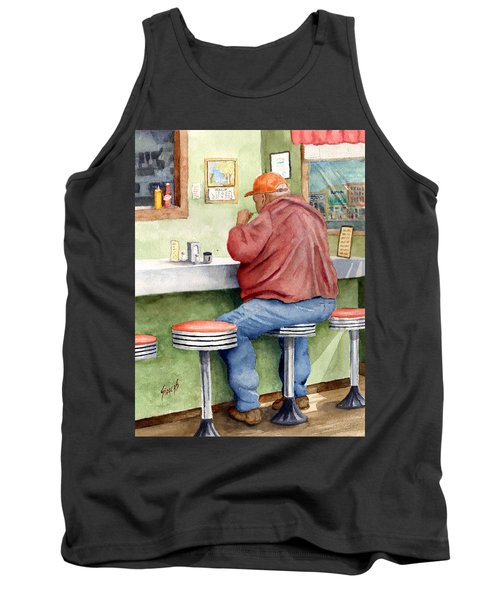Lunchtime Tank Top by Sam Sidders