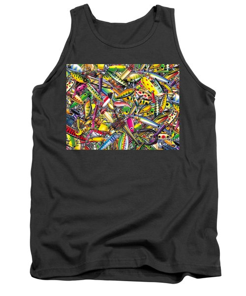 Lure Collage Tank Top