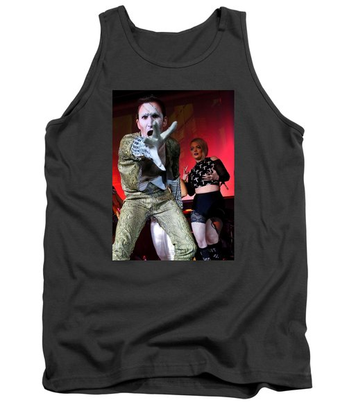 Lysol At Fifth Annual David Bowie Birthday Bash Tank Top