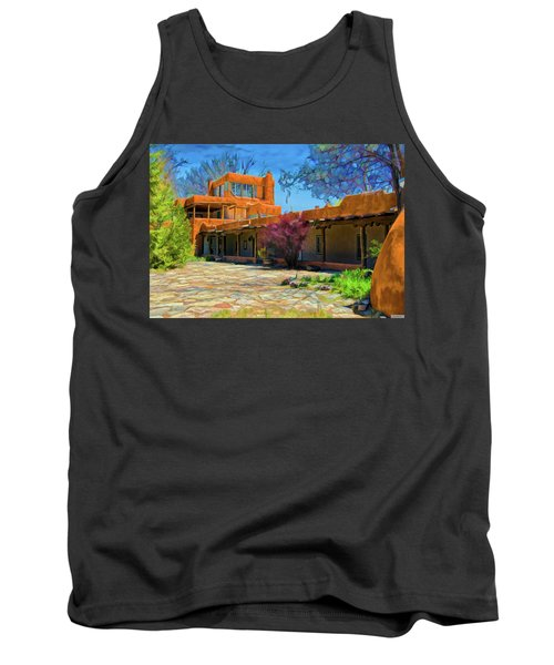 Mabel's Courtyard As Oil Tank Top
