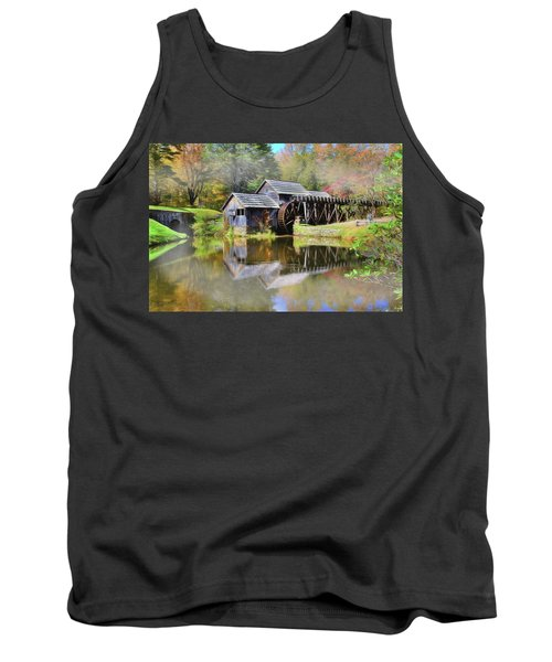Mabry Grist Mill Tank Top by Sharon Batdorf
