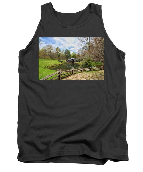 Mabry Mill In The Spring Tank Top