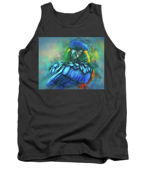 Macaw Magic Tank Top