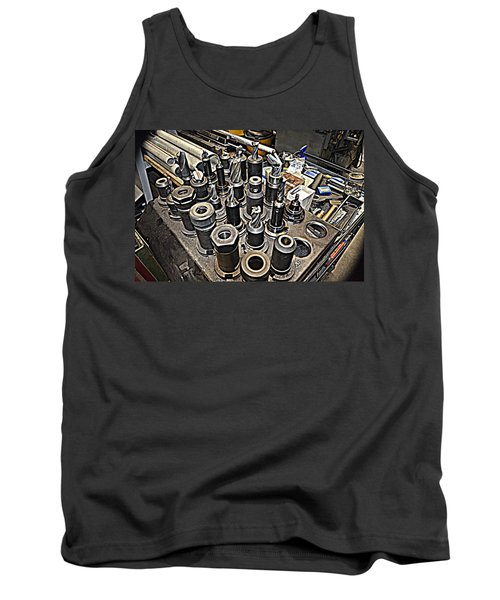 Machinist Shop Tools Series 4 Tank Top