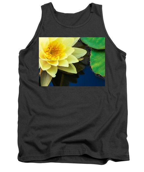 Macro Image Of Yellow Water Lilly Tank Top