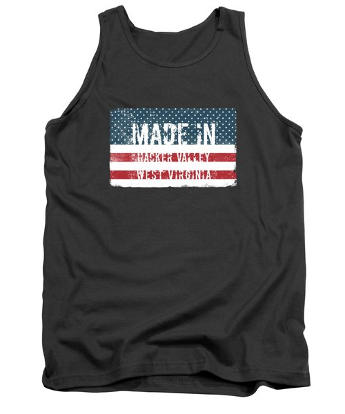 Made In Hacker Valley, West Virginia Tank Top