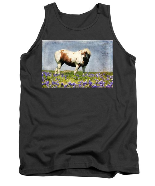 Made With Love From Texas Tank Top by Joan Bertucci