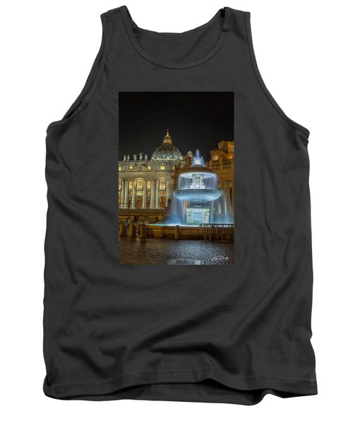 Maderno's Fountain Tank Top by Ed Cilley
