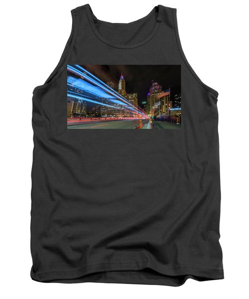 Tank Top featuring the photograph Mag Mile Warp Speed by Sean Foster