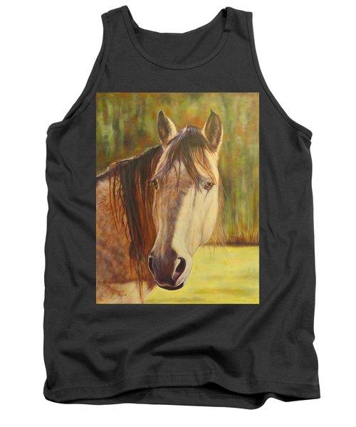 Maggie, Horse Portrait Tank Top