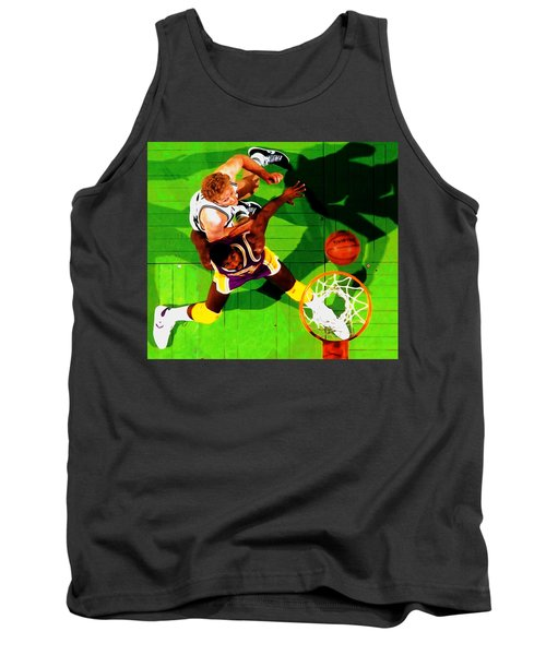 Magic And Bird Tank Top by Brian Reaves