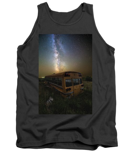 Tank Top featuring the photograph Magic Bus by Aaron J Groen