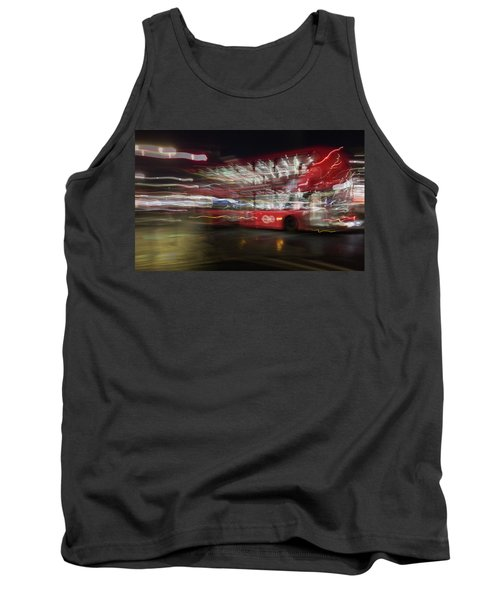Tank Top featuring the photograph Magic Bus by Alex Lapidus