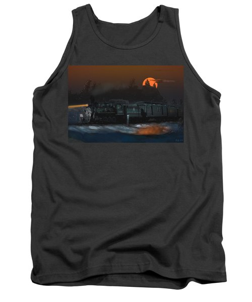 The Last Mile Before Home Tank Top by J Griff Griffin