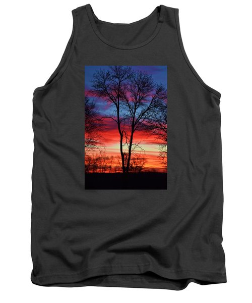 Tank Top featuring the photograph Magical Colors In The Sky by Dacia Doroff