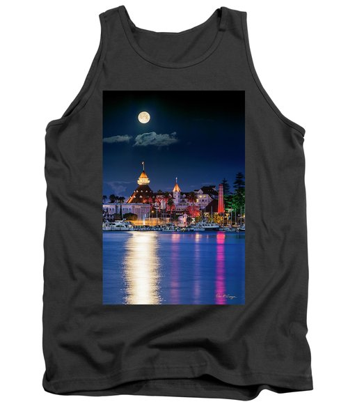 Tank Top featuring the photograph Magical Del by Dan McGeorge