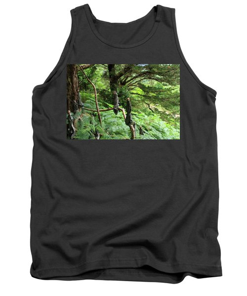 Tank Top featuring the photograph Magical Forest by Aidan Moran