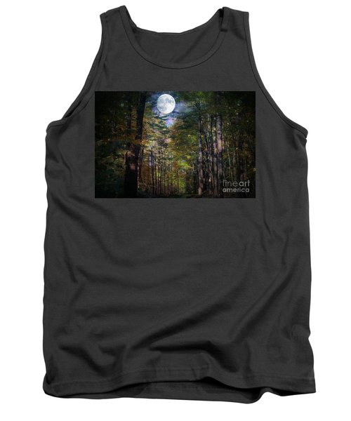 Magical Moonlit Forest Tank Top