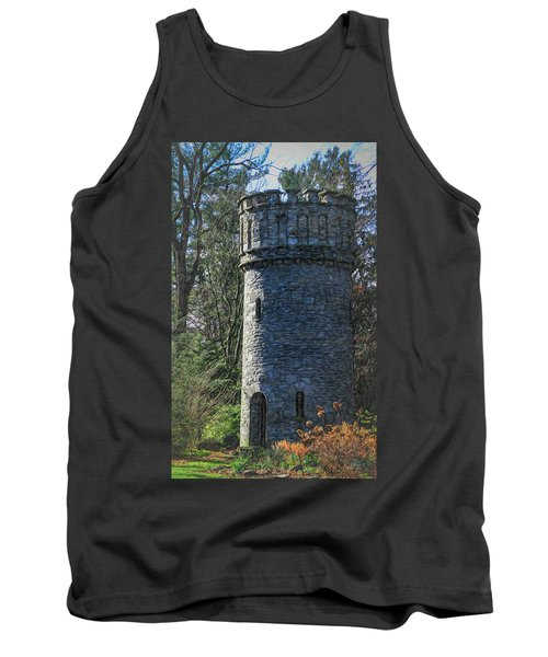 Magical Tower Tank Top by Patrice Zinck