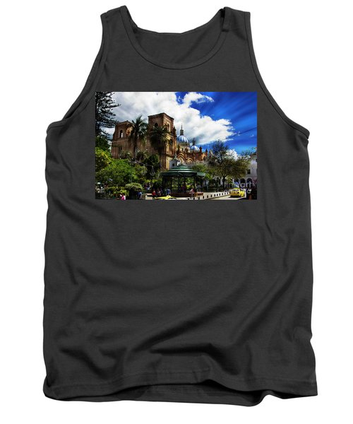 Magnificent Center Of Cuenca, Ecuador IIi Tank Top by Al Bourassa