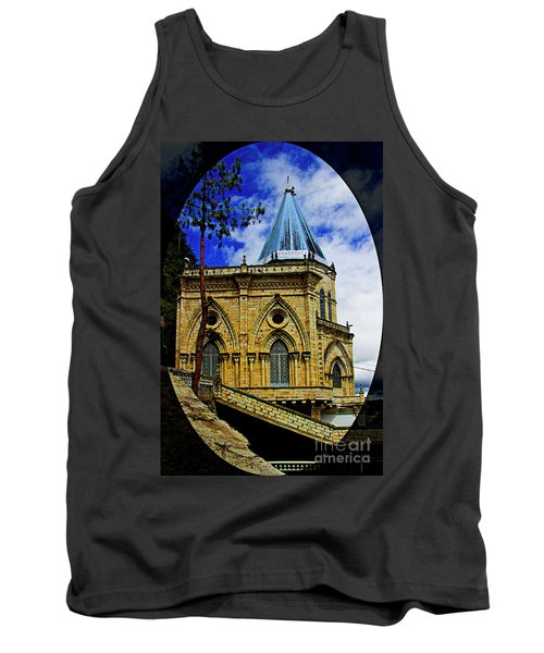 Tank Top featuring the photograph Magnificent Church Of Biblian by Al Bourassa