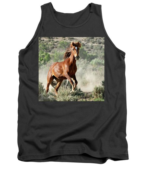 Magnificent Mustang Wildness Tank Top