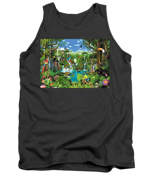 Magnificent Rainforest Tank Top