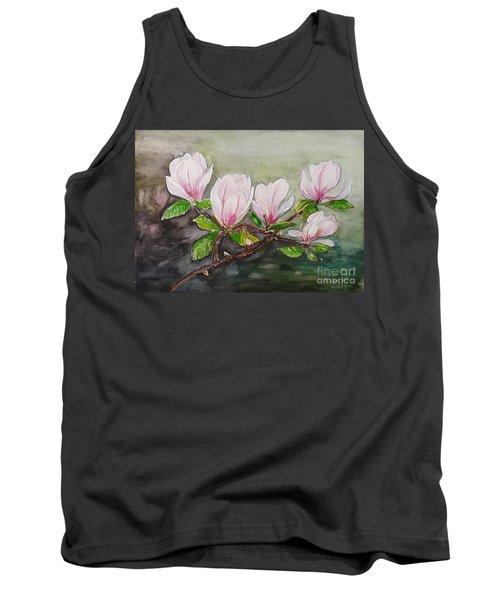 Magnolia Blossom - Painting Tank Top