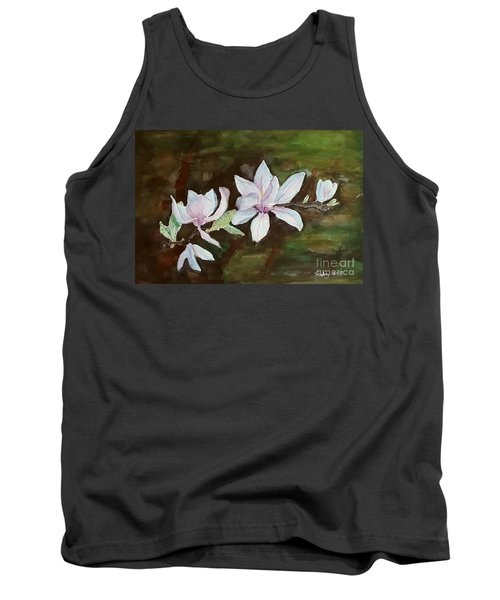 Magnolia - Painting  Tank Top