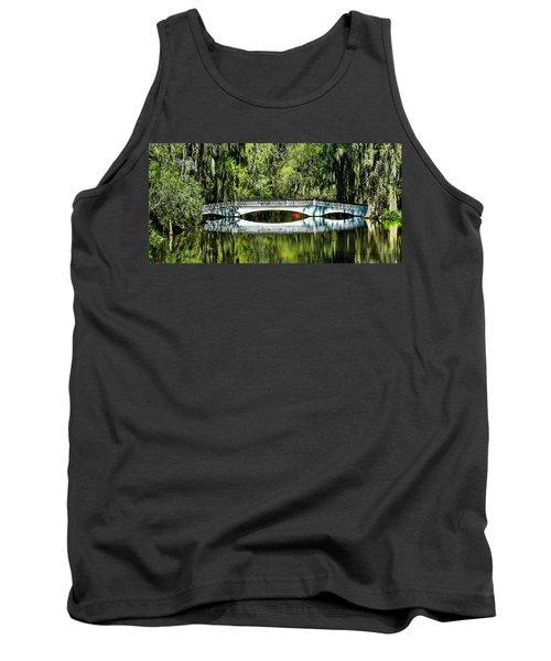 Magnolia Plantation Bridge - Charleston Sc Tank Top