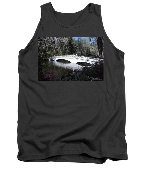 Magnolia Plantation Bridge Tank Top by Gordon Mooneyhan
