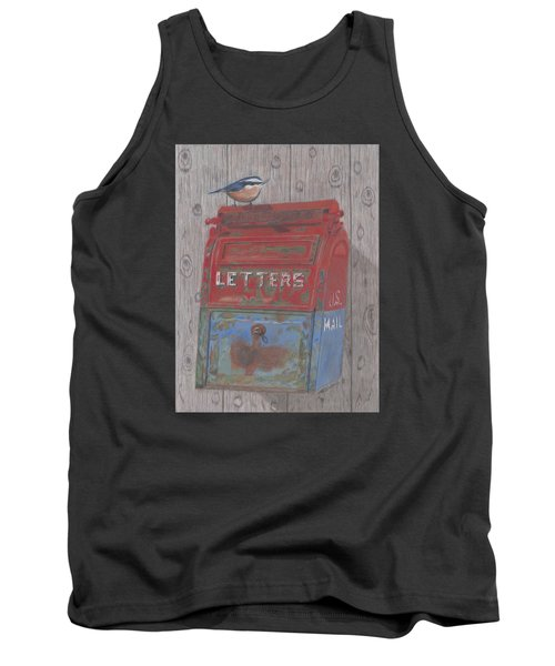 Tank Top featuring the painting Mail Call by Arlene Crafton