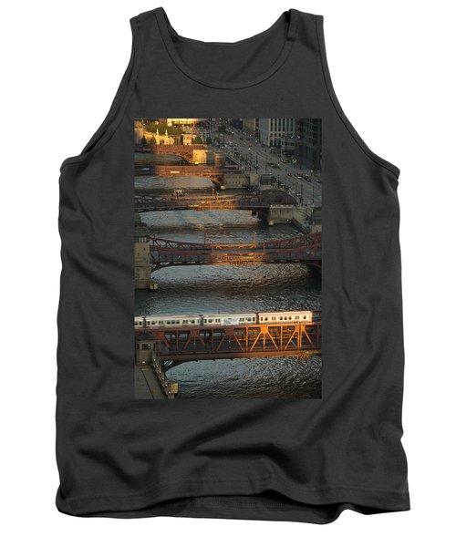 Main Stem Chicago River Tank Top