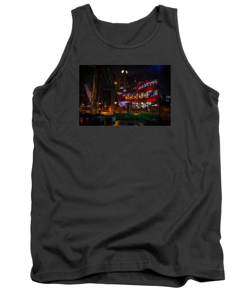 Main Street Station At Night Tank Top