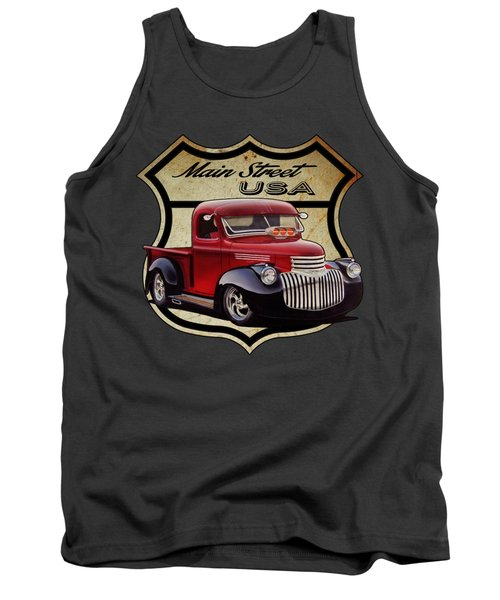 Main Street, Usa Pickup Tank Top