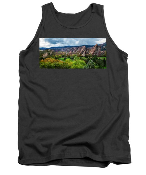 Tank Top featuring the photograph Majestic Foothills by Kristal Kraft