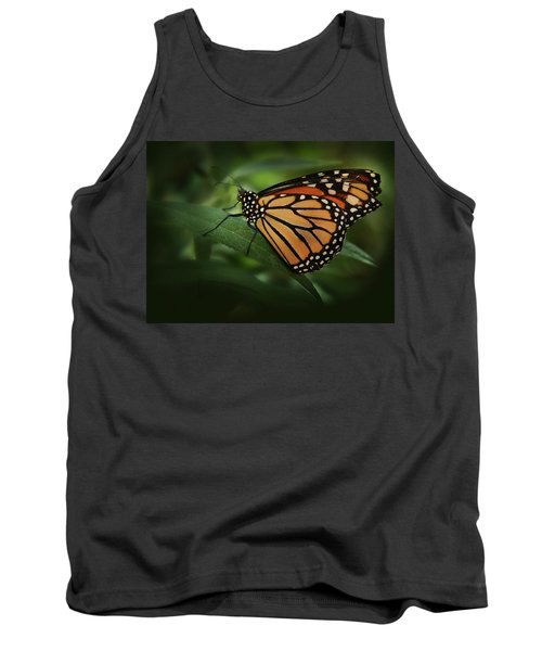 Majestic Monarch Tank Top by Marie Leslie