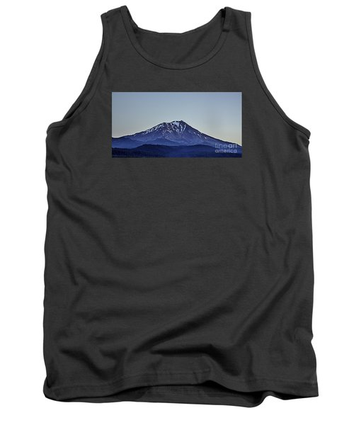 Majestic Mt Shasta Tank Top by Nancy Marie Ricketts