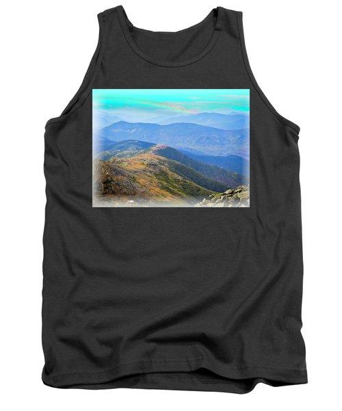 Majestic White Mountains Tank Top
