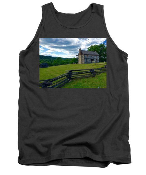 Majestic Wolf House Stands  Tank Top