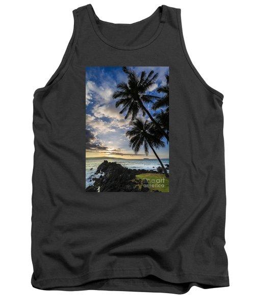 Makena Maui Hawaii Sunset Tank Top