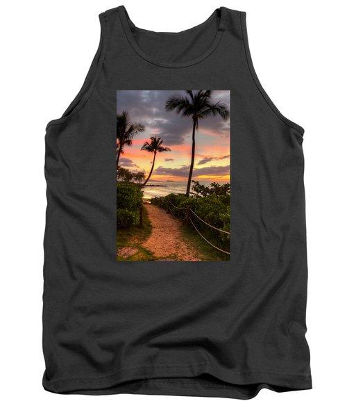 Makena Sunset Path Tank Top