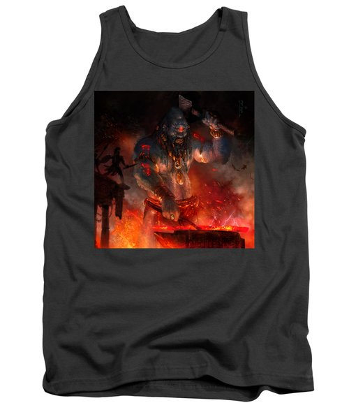 Maker Of The World Tank Top by Ryan Barger