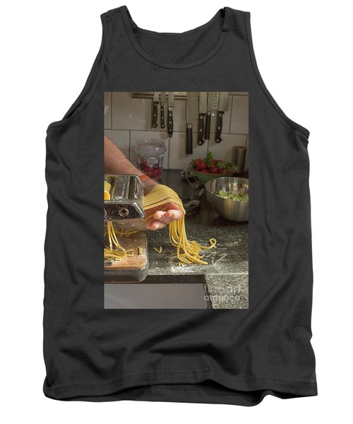 Tank Top featuring the photograph Making Pasta by Patricia Hofmeester