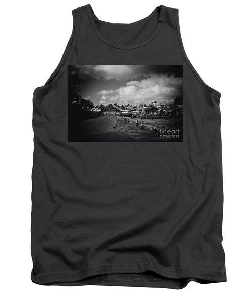 Tank Top featuring the photograph Mala Wharf Ala Moana Street Lahaina Maui Hawaii by Sharon Mau
