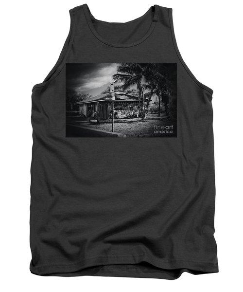 Tank Top featuring the photograph Mala Wharf Showers Lahaina Maui Hawaii by Sharon Mau