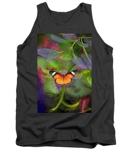 Malay Lacewing  What A Great Place Tank Top